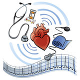 Heart Healthcare Stock Image