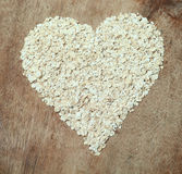 Heart Healthy Food Oats Royalty Free Stock Image