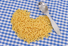 Heart Healthy Pasta Stock Photo