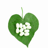 Heart healthy pills Stock Images