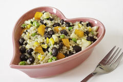Heart Healthy Quinoa Salad Royalty Free Stock Photography