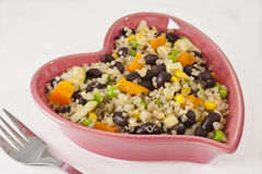 Heart Healthy Quinoa Salad Stock Photography
