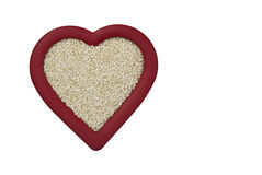 Heart Healthy Sesame Seeds Stock Images