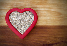 Heart Healthy Steel-Cut Oats Royalty Free Stock Photos
