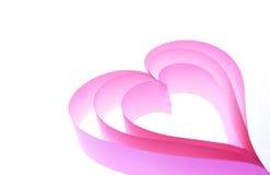 Heart in heart Stock Photo