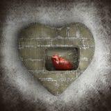 Heart in heart Stock Photos