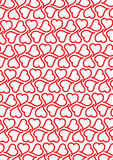Heart2heart_white_background Royalty-vrije Stock Afbeelding