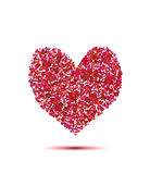 Heart from hearts Royalty Free Stock Images