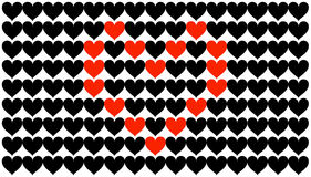 Heart in hearts Royalty Free Stock Photos