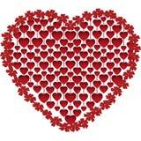 Heart from hearts Stock Photo