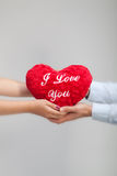 Heart holding together Royalty Free Stock Photo