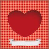 Heart Hole Background Royalty Free Stock Photos
