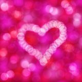 Heart on a holiday background Stock Photo