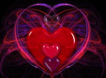 Heart home Royalty Free Stock Photo