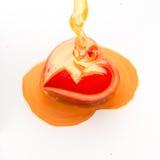 Heart honey. Stock Photography
