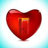 Heart House Royalty Free Stock Images