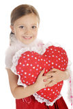 Heart Hugger Royalty Free Stock Photos