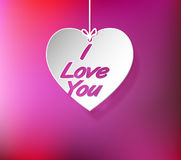 Heart I Love You Royalty Free Stock Images