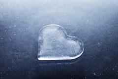 Heart of Ice royalty free stock images