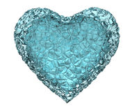 Heart  ice Royalty Free Stock Images