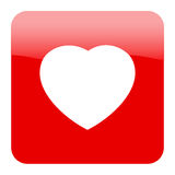 Heart Icon. EPS 8 Royalty Free Stock Photos