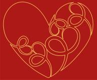 Heart icon. Flat design. Vector illustration eps10. Heart icon. Flat design. Vector illustration vector illustration