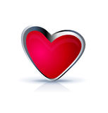 Heart icon illustration Stock Photo