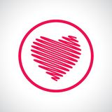 Heart icon Royalty Free Stock Photos