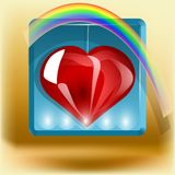 Heart icon Royalty Free Stock Image