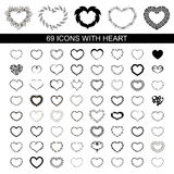 Heart icon Stock Photos