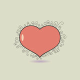 Heart icon. Stock Images