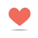 Heart Icon Vector. Royalty Free Stock Images
