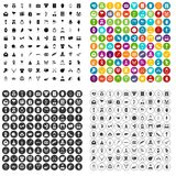 100 heart icons set vector variant. 100 heart icons set vector in 4 variant for any web design isolated on white Stock Illustration