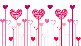 Heart icons, valentin's day Royalty Free Stock Images