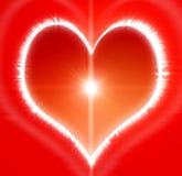 Heart illustration Stock Image