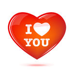 Heart illustration Royalty Free Stock Image