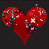Heart  illustration Stock Photo