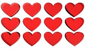 Heart,illustration. Illustration heart boilies quality and colors Royalty Free Stock Photos