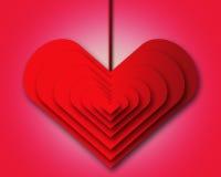 Heart illustration. Stock Image