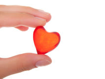 Free Heart In The Hand Stock Photos - 17855573