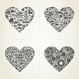 Heart the industry2 Stock Images