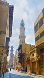 The heart of Islamic Cairo Royalty Free Stock Photography