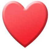 Heart, isolated. Stock Photography