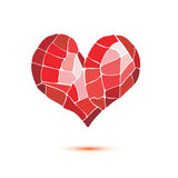 Heart isolated symbol Stock Images