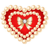 Heart isolated on white background. Royalty Free Stock Images