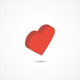 Heart isometric icon 3d vector illustration Stock Photo
