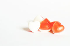 Heart jelly candy Royalty Free Stock Images