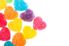 Heart jelly Royalty Free Stock Photo