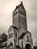 Heart Jesus Tower Church in Singen Stock Photo