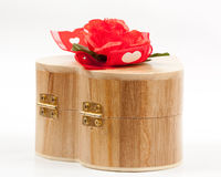 Heart jewelry box Royalty Free Stock Image